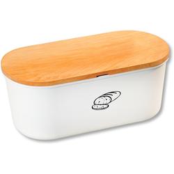 KESPER for kitchen & home Aufbewahrungsbox, (2 tlg.), mit Deckel aus Melamin weiß Aufbewahrung Küchenhelfer Haushaltswaren Aufbewahrungsbox