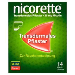 nicorette Transdermales Pflaster 25mg