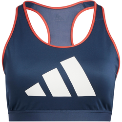 adidas Plus Size BH Damen in crew navy-crew red-white, Größe 46/48 crew navy-crew red-white 46/48