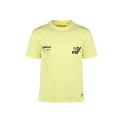 CATERPILLAR T-Shirt Caterpillar B-W Flag gelb XXL