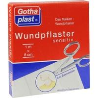 Gothaplast Wundpfl.sensitiv 8 cmx1 m geschnitten 1 St