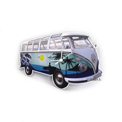 VW Bulli T1 Wanduhr Surf