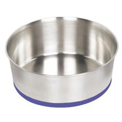 Nobby Edelstahlnapf Heavy, rutschfest für Hunde, Fassungsvermögen: 2,8 l