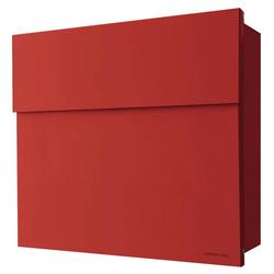 Radius Briefkasten Radius Briefkasten Letterman 4 rot Wandbriefkasten 560r