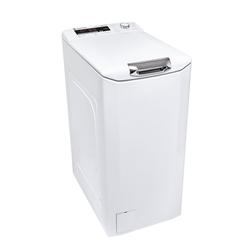 Hoover Waschmaschine Toplader HNFLS G474TAH-84, 7 kg, 1400 U/Min, Aquastopp Invertermotor