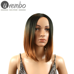 Urembo Silver VANESSA Perücke Wig, Farbe: T1B/Brown (OMBRE Schwarz Braun)