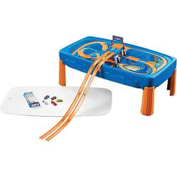 Hot Wheels Car & Track Spieltisch blau