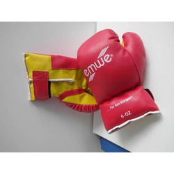 Boxhandschuhe,6Uz.,rot, f. 5-7 Jahre
