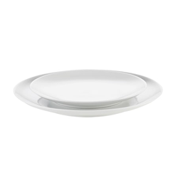 Pillivuyt Cecil Teller flach Weiß Ø19,5 cm