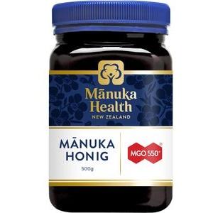 manuka-health Honig Manuka Honig MGO 550+, aus Neuseeland, 500g