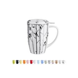 LOVECASA Tasse (1-tlg), Porzellan, Teebecher Kaffeebecher aus Porzellan