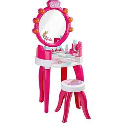 Klein Schminktisch Barbie Schminktisch mit Hocker inkl. Zubehör, pink
