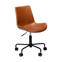 ebuy24 Drehstuhl Danform Hype Bürostuhl vintage hellbraun, PU