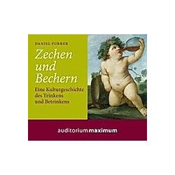 Zechen und Bechern  1 Audio-CD - Hörbuch