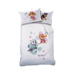 Bettwäsche Kinderbettwäsche, Paw Patrol, weiß, 100 x 135 cm +, CTI
