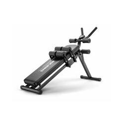 3 en 1 pliable Sit Ups / Push Ups banc 3 niveaux de réglage de fitness abdominale équipement de