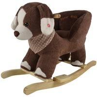KNORRTOYS Oskar brown dog Schaukelspielzeug