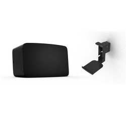 Sonos Five   WLAN Speaker inkl. Flexson Wandhalterung schwarz (Sonos Five WLAN Speaker für Musikstreaming  ...)