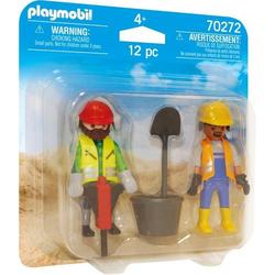 Duo Pack Zwei Bauarbeiter