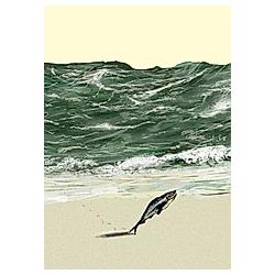 Strandspiel, Postkarten