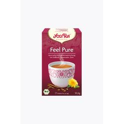Yogi Tea Feel Pure Bio, 17 Teebeutel