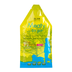 alsa-nature Meaty to go Energy-BOOSTER, 12 x 85 g, Hundefutter