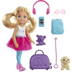 Barbie Reise Chelsea Puppe und Zubehör FWV20