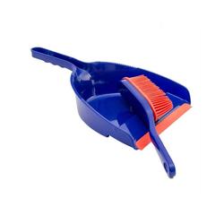 Kehrgarnitur Kehrschaufel und Handfeger, Lantelme, (2-tlg), Schaufel Handfeger Set rot, blau
