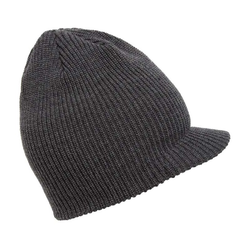 Beanie VOLCOM - Full Stone Visor Beanie Charcoal Heather (CHH)