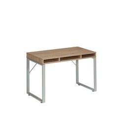 Schreibtisch in Eiche Sonoma Metall
