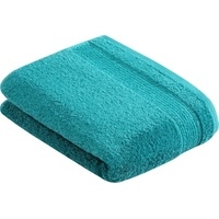 VOSSEN Duschtuch Balance (1-St), antibakteriell durch Hanf blau 67 cm x 140 cm