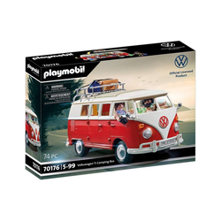 Playmobil® Spielzeug-Auto PLAYMOBIL® 70176 - Volkswagen T1 Camping Bus