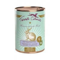 Terra Canis Sensitiv Kaninchen mit Zucchini, Aprikose & Borretsch 6 x 400 g