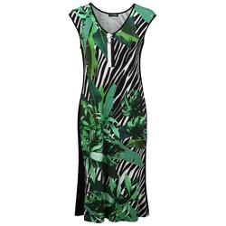Sommerkleid mit Allover-Muster Doris Streich gras