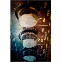 Art & Pleasure Metallbild Amplifier, Amplifier bunt Metallbilder Bilder Bilderrahmen Wohnaccessoires