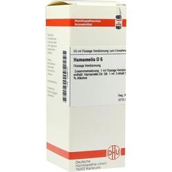 HAMAMELIS D 6