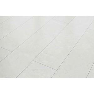 Laminat Classen Visiogrande Fliese Granit weiß + Leiste & Dämmung ab 13,99€/m2