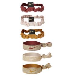 Nike Zopfbänder (9er-Pack) - Pink, size: ONE SIZE