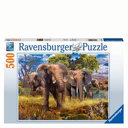 Ravensburger Elefantenfamilie Puzzle 500 Teile