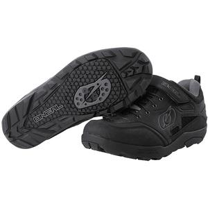 Oneal Traverse SPD Schuhe, schwarz-grau, Größe 46