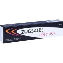 ZUGSALBE effect 50% Salbe 40 g
