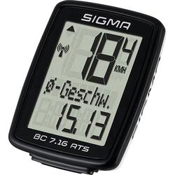 SIGMA SPORT Fahrradcomputer BC 7.16 ATS, kabellos