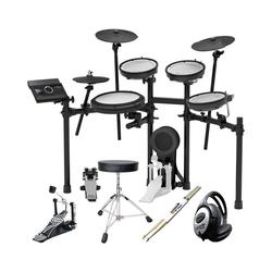 Roland Audio Elektrisches Schlagzeug Roland TD-17KV E-Drum Schlagzeug + Zubehör