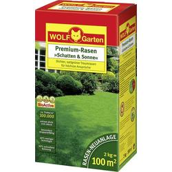 Wolf Garten 3820040 Rasensamen Schatten & Sonne LP 100