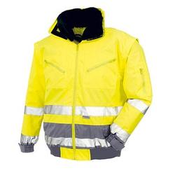 teXXor® Herren Arbeitsjacke VANCOUVER gelb Größe 3XL