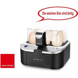 Emerio Eierkocher EB-123177.1 mit Sprachausgabe in Deutsch, Anzahl Eier: 6 St., 400 W