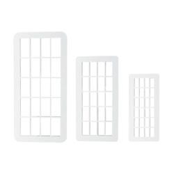 PME Geometrischer Multischneider Ziegel 3 Stück