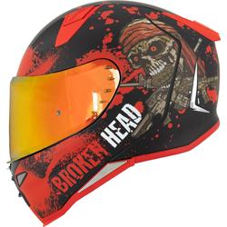 Broken Head Jack S. V2 Pro Rot SET + gratis rot verspiegeltes Visier