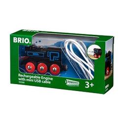 BRIO®    Schwarze Akku-Lok Spielzeugeisenbahnen
