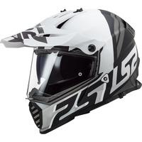 MX436 Pioneer Evo matt-black/white